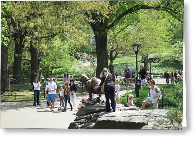 New York City - Central Park - 12127 Greeting Card