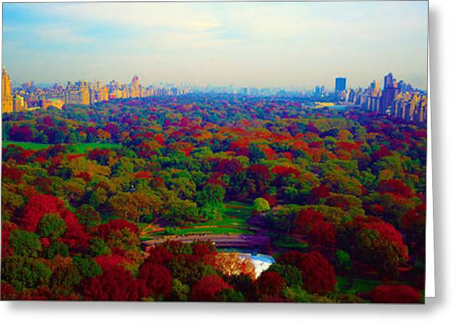 New York City Central Park South Greeting Card