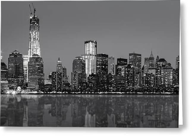 New York City Greeting Card by Eduard Moldoveanu