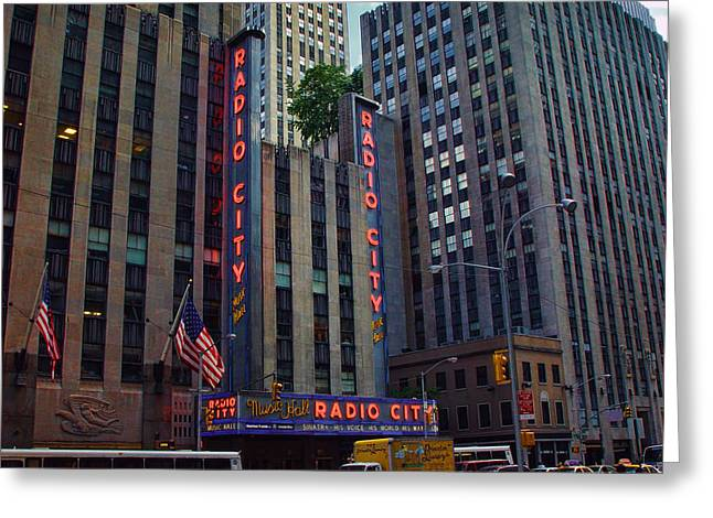 New York City Radio City Music Hall  Greeting Card
