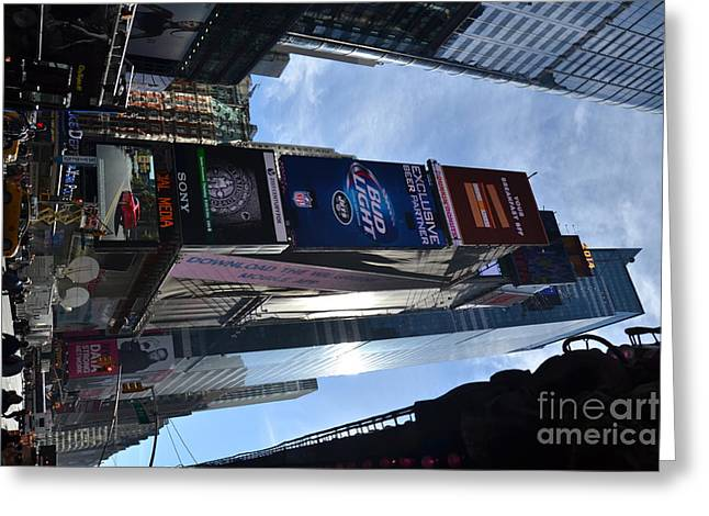 New York City Greeting Card by Robert Daniels