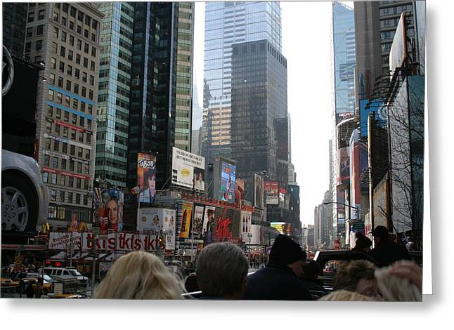New York City - Sights Of The City - 12121 Greeting Card by DC Photographer