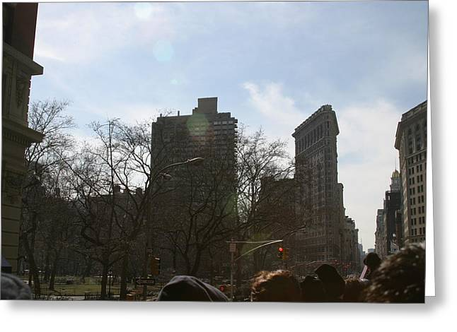 New York City - Sights Of The City - 121218 Greeting Card