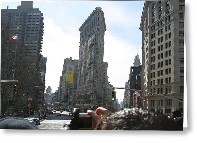 New York City - Sights Of The City - 121219 Greeting Card