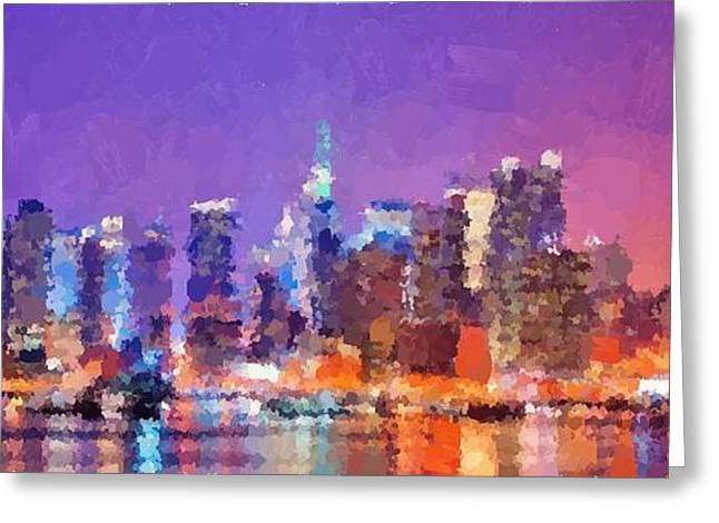 New York City - Skyline 0 Greeting Card