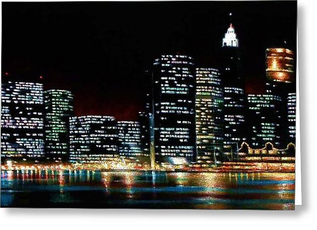 New York City Skyline 2 Greeting Card