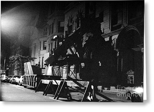 Greeting Card featuring the photograph New York City Street by Steven Macanka