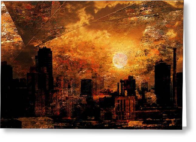 New York City Sunrise Greeting Card