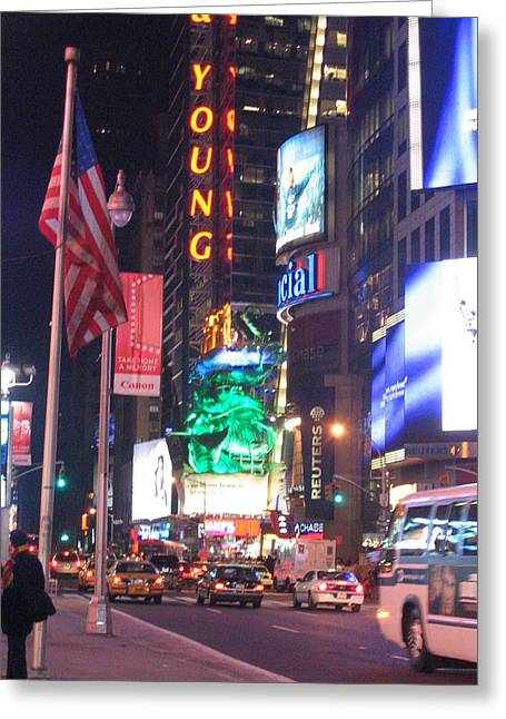 New York City - Times Square - 121210 Greeting Card