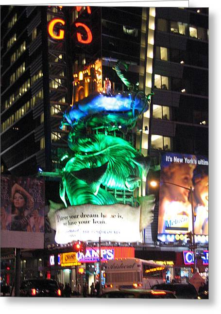 New York City - Times Square - 121212 Greeting Card