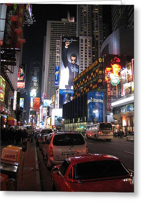New York City - Times Square - 121224 Greeting Card by DC Photographer