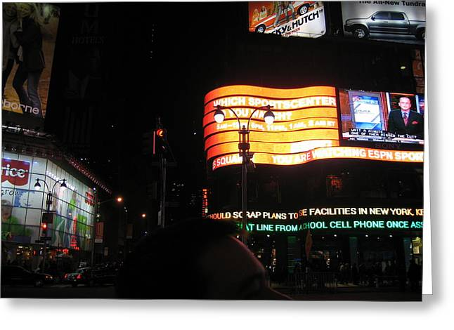 New York City - Times Square - 12127 Greeting Card