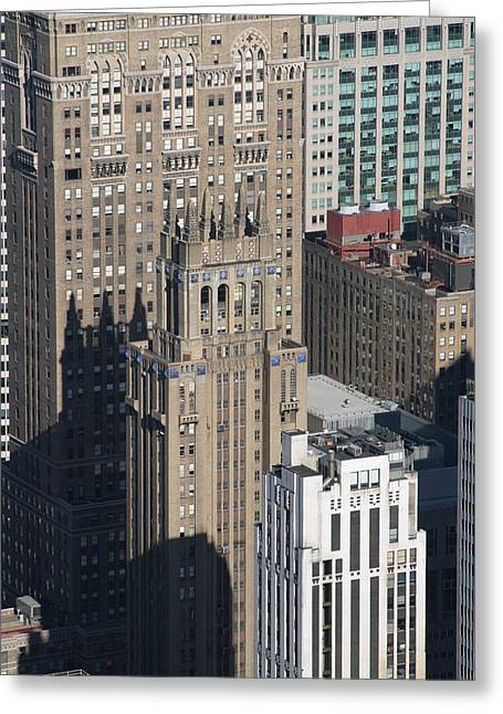New York City - View From Empire State Building - 121212 Greeting Card