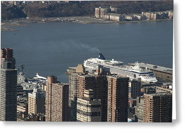 New York City - View From Empire State Building - 12123 Greeting Card