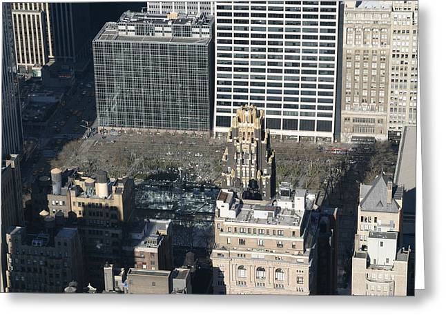 New York City - View From Empire State Building - 121231 Greeting Card