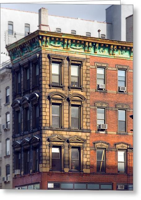 New York City - Windows - Old Charm Greeting Card by Gary Heller