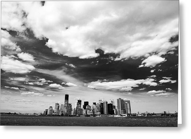 New York Cityscape Greeting Card