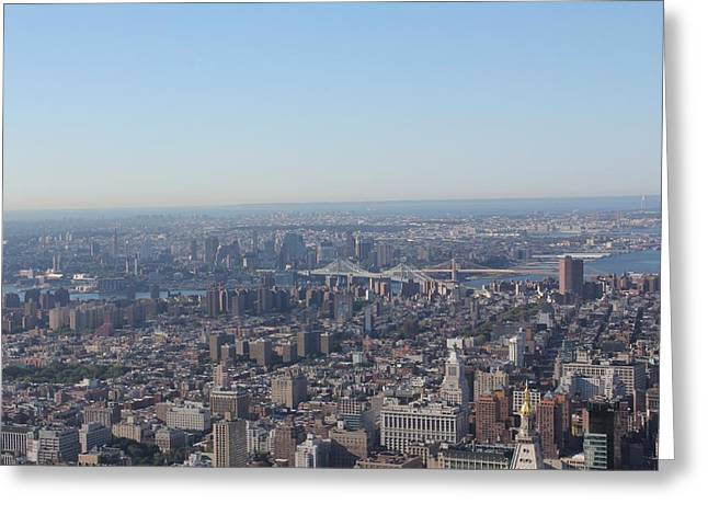 Greeting Card featuring the photograph New York  by David Grant