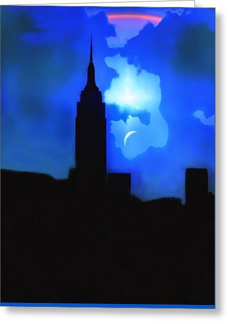 New York City Event Greeting Card