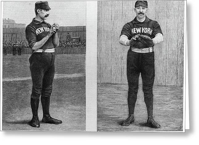 New York Giants, 1888 Greeting Card by Granger