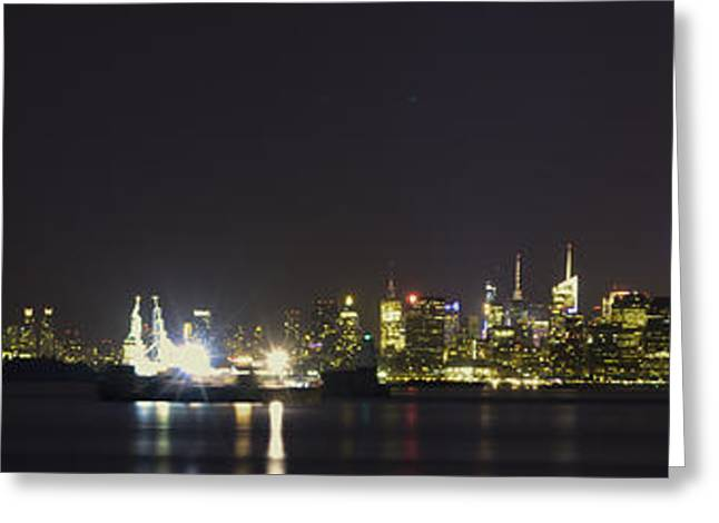 New York Harbor Greeting Card