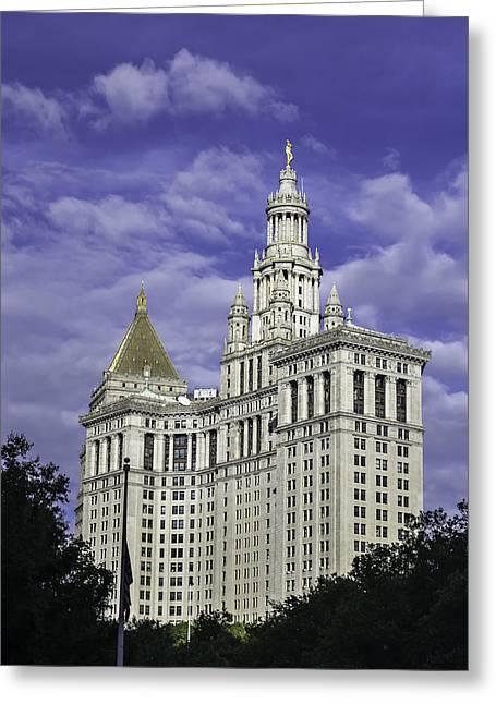 New York Municipal Building Greeting Card