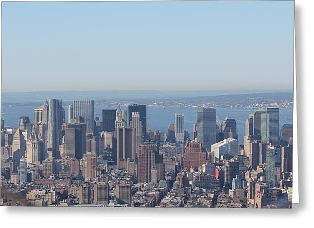 Greeting Card featuring the photograph New York - New York by David Grant