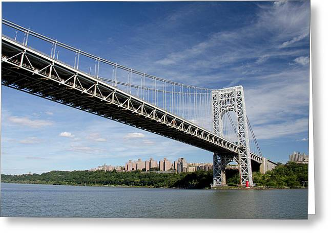 New York, New York, Hudson River Greeting Card