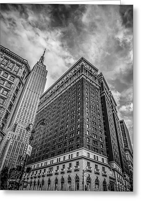 New York New York Greeting Card by Shari Mattox
