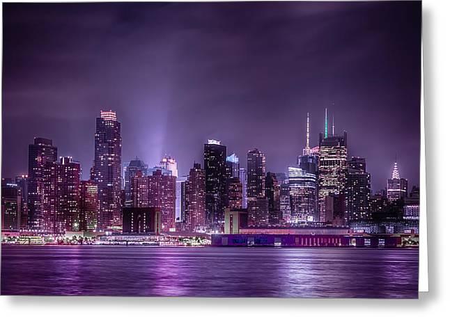 New York Nights Greeting Card