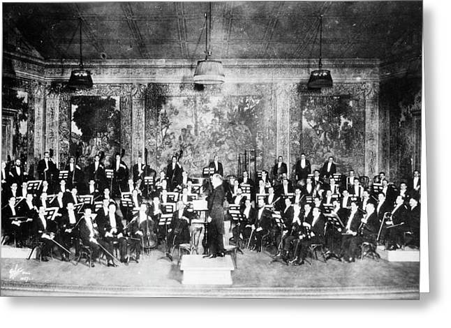 New York Orchestra, C1915 Greeting Card