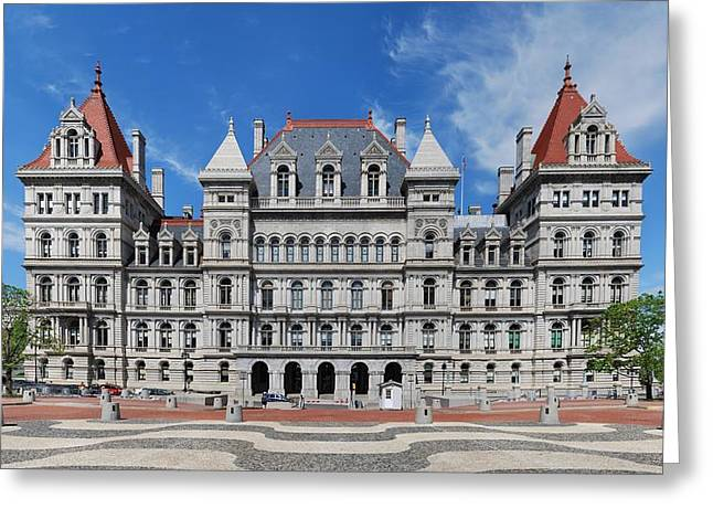 New York State Capitol Greeting Card