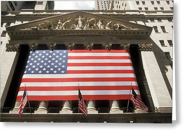 New York Stock Exchange Greeting Card by Jim West