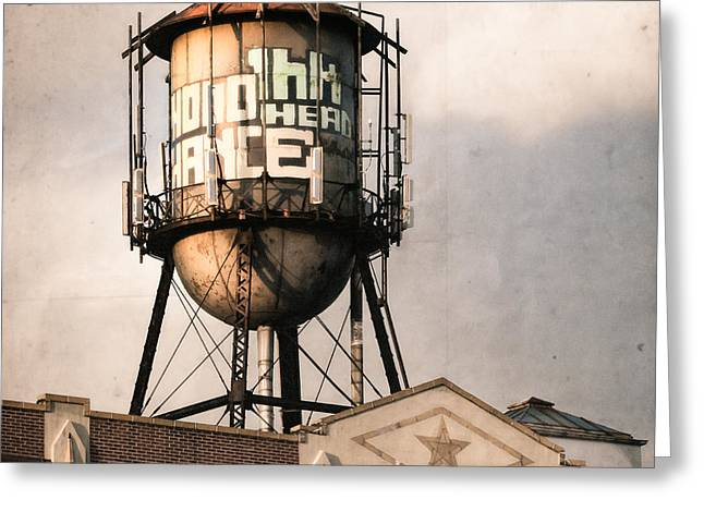 New York. Water Towers 6 Greeting Card