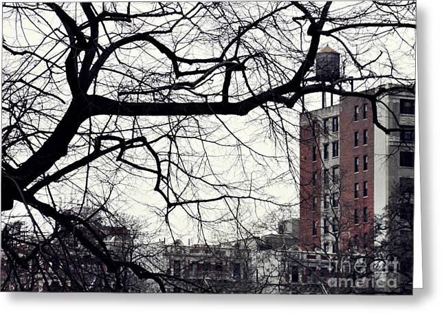 New York Winter Day 2 Greeting Card by Sarah Loft