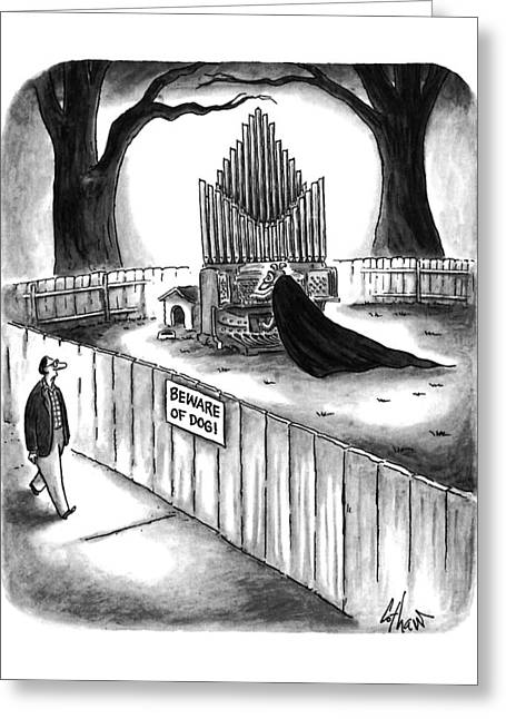 New Yorker April 10th, 1995 Greeting Card by Frank Cotha