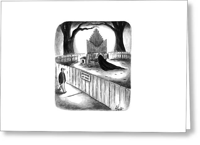 New Yorker April 10th, 1995 Greeting Card by Frank Cotham