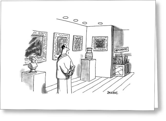 New Yorker April 10th, 1995 Greeting Card