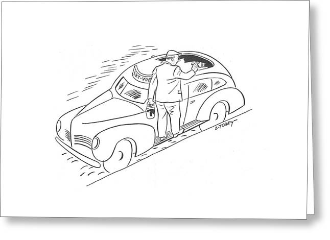 New Yorker April 11th, 1942 Greeting Card