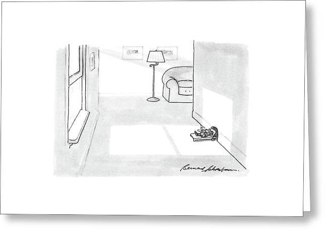 New Yorker April 11th, 1988 Greeting Card by Bernard Schoenbaum