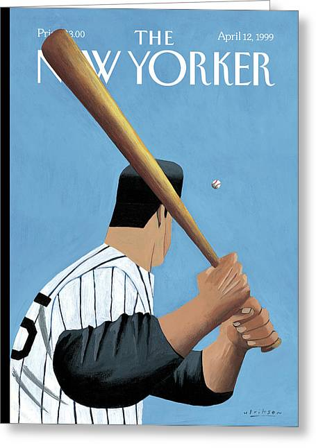 New Yorker April 12th, 1999 Greeting Card