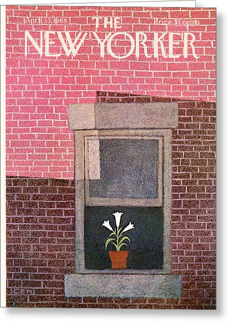 New Yorker April 13th, 1968 Greeting Card