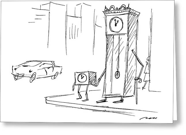 New Yorker April 13th, 1992 Greeting Card