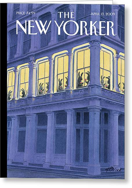 New Yorker April 13th, 2009 Greeting Card