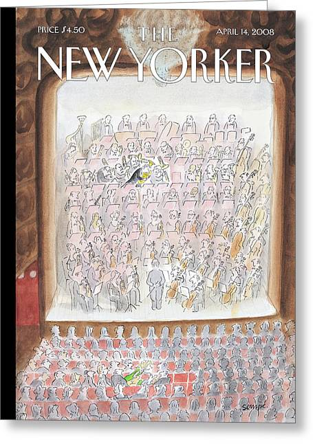 New Yorker April 14th, 2008 Greeting Card