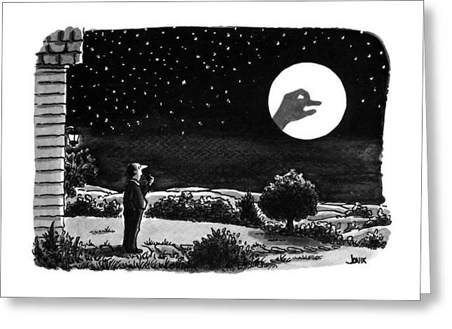 New Yorker April 16th, 1990 Greeting Card by John Jonik