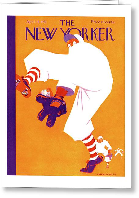 New Yorker April 18th, 1931 Greeting Card