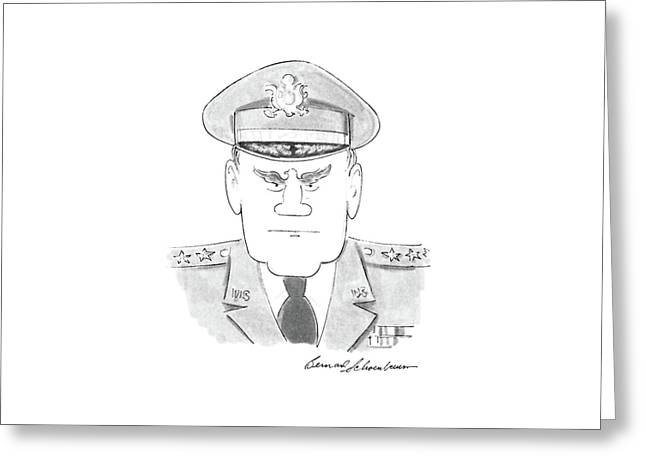 New Yorker April 18th, 1988 Greeting Card