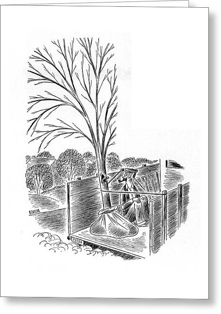 New Yorker April 19th, 1941 Greeting Card