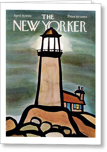 New Yorker April 19th, 1969 Greeting Card